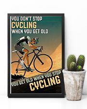 Cycling Don't Stop 11x17 Poster lifestyle-poster-8