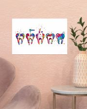 Dentist Endodontic Therapy Watercolor 17x11 Poster poster-landscape-17x11-lifestyle-22