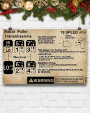 Trucker - Warning Information 17x11 Poster aos-poster-landscape-17x11-lifestyle-28