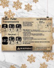 Trucker - Warning Information 17x11 Poster aos-poster-landscape-17x11-lifestyle-30