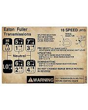 Trucker - Warning Information 17x11 Poster front