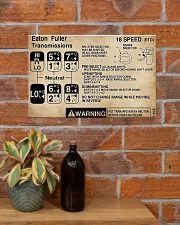 Trucker - Warning Information 17x11 Poster poster-landscape-17x11-lifestyle-23