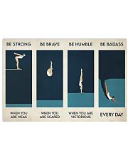 Swimming - Be Strong When You Are Weak 17x11 Poster front