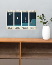 Swimming - Be Strong When You Are Weak 17x11 Poster poster-landscape-17x11-lifestyle-24