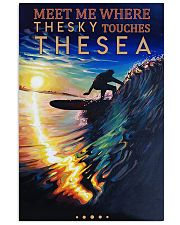 Surfing - Meet Me Where The Sky Touches The Sea 11x17 Poster front
