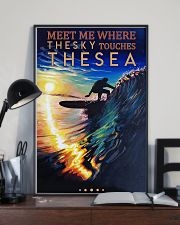 Surfing - Meet Me Where The Sky Touches The Sea 11x17 Poster lifestyle-poster-2