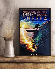 Surfing - Meet Me Where The Sky Touches The Sea 11x17 Poster lifestyle-poster-3