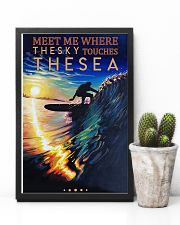 Surfing - Meet Me Where The Sky Touches The Sea 11x17 Poster lifestyle-poster-8