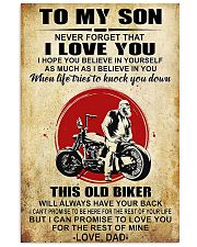 Motorcycle To My Son  11x17 Poster front
