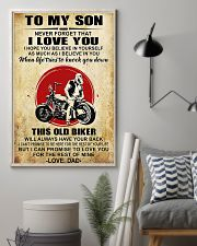 Motorcycle To My Son  11x17 Poster lifestyle-poster-1