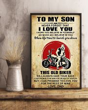Motorcycle To My Son  11x17 Poster lifestyle-poster-3