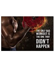Fitness Gift 17x11 Poster front