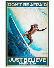 Surfing - Just Believe 11x17 Poster front