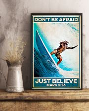 Surfing - Just Believe 11x17 Poster lifestyle-poster-3