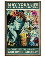 Hippie - May Your Life Be Like A Wildflower 11x17 Poster front
