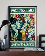 Hippie - May Your Life Be Like A Wildflower 11x17 Poster lifestyle-poster-2
