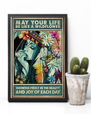 Hippie - May Your Life Be Like A Wildflower 11x17 Poster lifestyle-poster-8