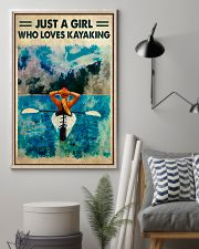 Kayaking Just A Girl Who Loves Kayaking 11x17 Poster lifestyle-poster-1