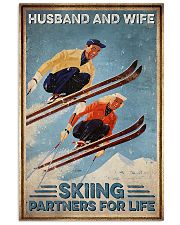 Skiing Husband And Wife Skiing Partners For Life 11x17 Poster front