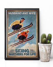 Skiing Husband And Wife Skiing Partners For Life 11x17 Poster lifestyle-poster-8