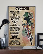 Cycling The Ride Goes On 11x17 Poster lifestyle-poster-2
