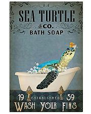 Turtle Sea Turtle And Co Bath Soap 11x17 Poster front