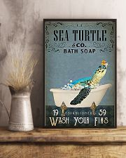 Turtle Sea Turtle And Co Bath Soap 11x17 Poster lifestyle-poster-3