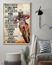 Motorcycle Today Is A Good Day 11x17 Poster lifestyle-poster-1