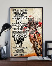 Motorcycle Today Is A Good Day 11x17 Poster lifestyle-poster-2