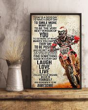 Motorcycle Today Is A Good Day 11x17 Poster lifestyle-poster-3