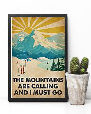 Mountains Calling Skiing 11x17 Poster lifestyle-poster-8