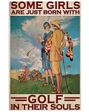 Golf In Girls' Souls 11x17 Poster front