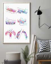 Dentist Watercolor Brush Teeth 11x17 Poster lifestyle-poster-1