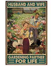 Garden Husband And Wife 11x17 Poster front
