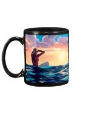 Surfing Girl Mug back