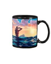 Surfing Girl Mug front
