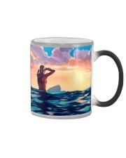 Surfing Girl Color Changing Mug thumbnail