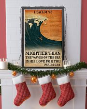 Surfing His Love For You Mightier Than The Waves  11x17 Poster lifestyle-holiday-poster-4