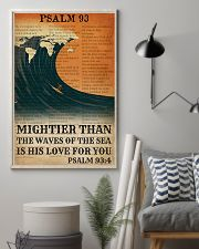 Surfing His Love For You Mightier Than The Waves  11x17 Poster lifestyle-poster-1