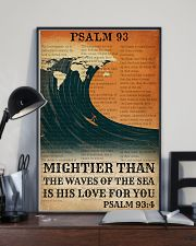 Surfing His Love For You Mightier Than The Waves  11x17 Poster lifestyle-poster-2