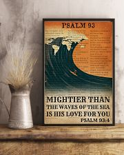 Surfing His Love For You Mightier Than The Waves  11x17 Poster lifestyle-poster-3