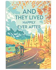 Cycling They Lived Happily 11x17 Poster front