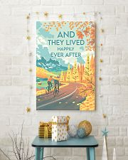 Cycling They Lived Happily 11x17 Poster lifestyle-holiday-poster-3