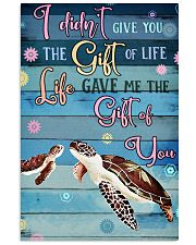 Gift Turtle 11x17 Poster front