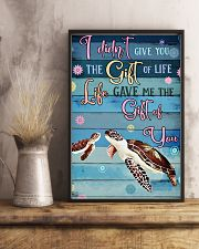 Gift Turtle 11x17 Poster lifestyle-poster-3