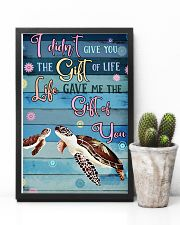 Gift Turtle 11x17 Poster lifestyle-poster-8