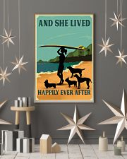 Surfing And She lived Happily Ever After 11x17 Poster lifestyle-holiday-poster-1
