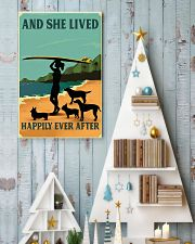 Surfing And She lived Happily Ever After 11x17 Poster lifestyle-holiday-poster-2