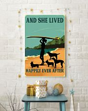 Surfing And She lived Happily Ever After 11x17 Poster lifestyle-holiday-poster-3