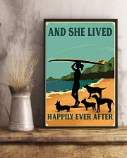 Surfing And She lived Happily Ever After 11x17 Poster lifestyle-poster-3